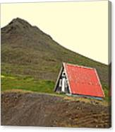We Will Live Together In A Humble Mountain Hut  Canvas Print