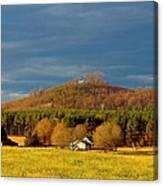 Mountain In North Carolina Canvas Print