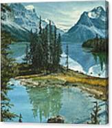 Mountain Island Sanctuary Canvas Print