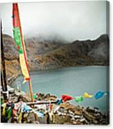 Mountain Lake Gosaikunda Himalayas Canvas Print