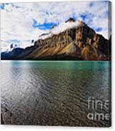 Mountain Lake Scenic Canvas Print