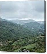 Mountain Landscape Of Italy Canvas Print