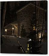 Mountain Lodge Canvas Print