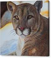 Mountain Lyin - Watercolor Canvas Print