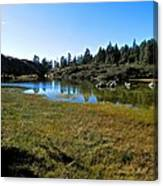 Mountain Marshes 1 Canvas Print