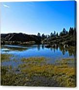 Mountain Marshes 2 Canvas Print