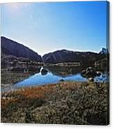Mountain Marshes 4 Canvas Print