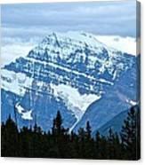 Mountain Meets The Sky Canvas Print