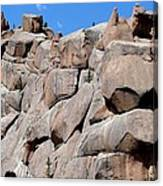 Mountain Of Boulders Canvas Print