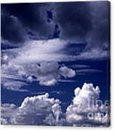 Mountain Of Clouds Canvas Print