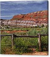 Mountain Of Color Canvas Print