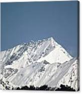 Mountain Of Peace - Himalayas Canvas Print