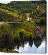 Mountain Orchard Canvas Print