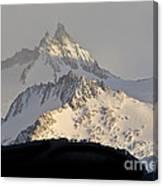 Mountain Peaks, Argentina Canvas Print