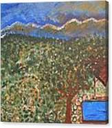 Mountain Pool Canvas Print