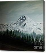 Mountain Range Canvas Print