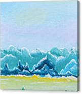Mountain Range Canvas Print
