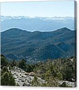 Mountain Range, White Mountains Canvas Print