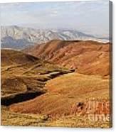 Mountain Scenary Near Zanjan In Iran Canvas Print