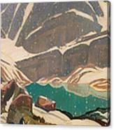 Mountain Solitude Canvas Print