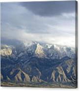 Mountain Storm Canvas Print