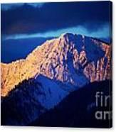 Lizard Range Mountain Sunrise Canvas Print