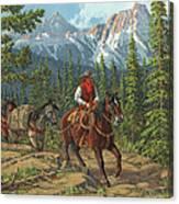 Mountain Traveler Canvas Print