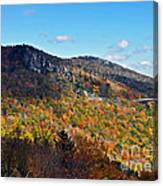 Mountain View From Linn Cove Viaduct Canvas Print