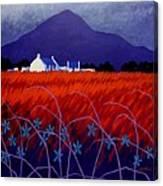 Mountain View  Canvas Print