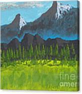Mountain Vista Canvas Print