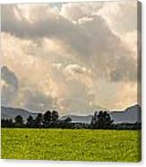 Mountain Weather Canvas Print