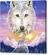 Mountain Wolf Canvas Print