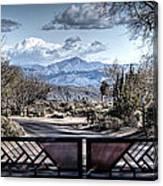 Mountainous Splendor Canvas Print