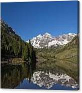 Mountains Co Maroon Bells 12 Canvas Print