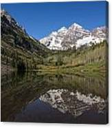 Mountains Co Maroon Bells 16 Canvas Print