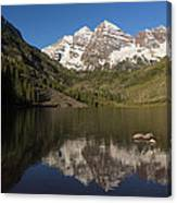 Mountains Co Maroon Bells 8 Canvas Print