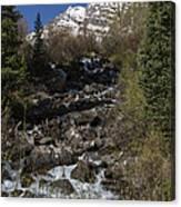 Mountains Co Maroon Creek 2 Canvas Print
