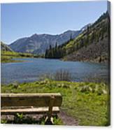 Mountains Co Maroon Lake 3 Canvas Print