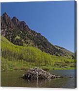 Mountains Co Maroon Lake 4 Canvas Print