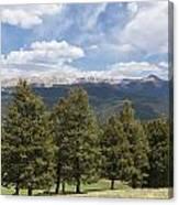 Mountains Co Mueller Sp 1 Canvas Print