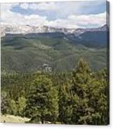 Mountains Co Mueller Sp 2 Canvas Print