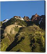 Mountains Co Sievers 1 Canvas Print