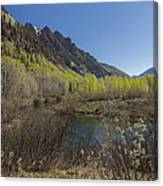 Mountains Co Sievers 3 Canvas Print