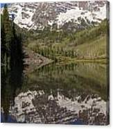 Mountains Maroon Bells 11 Canvas Print
