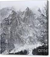 Mountains Of Austria Canvas Print