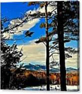 Mountains Rising Canvas Print