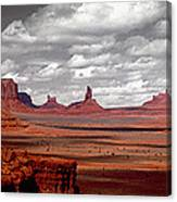 Mountains, West Coast, Monument Valley Canvas Print