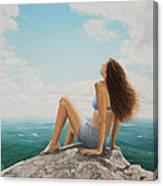 Mountaintop Meditation Canvas Print