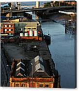 Mouth Of The River Hull Canvas Print