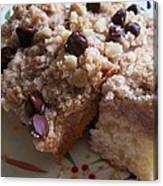 Mouthwatering Crumb Cake Canvas Print